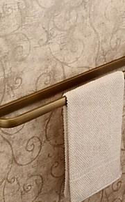 アンティークブラス仕上げ真鍮素材のタオルバー