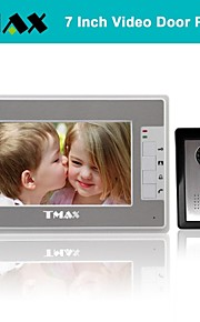 tmax® 7 inch kleuren TFT LCD video deurtelefoon met 500tvl night vision camera