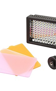 HD 126 LED Camera Video Camcorder Hot Shoe Light voor Canon Nikon Pentax Sigma