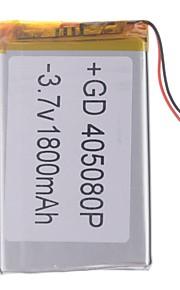 "Universele vervanging van 3.7V 2200mAh Li-polymer batterij voor 7 ~ 10 ""Macbook Samsung Acer Sony Apple Tablet PC (4 * 50 * 80)"
