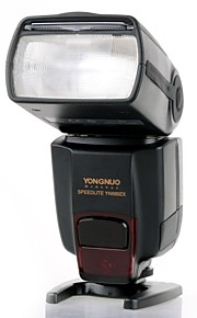 YONGNUO YN565EX Speedlite til Nikon DSLR / E-TTL / Wireless Flash - Sort