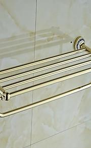 керамическая латунь золотой ти-PVD вешалка для полотенец