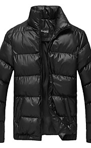 Skymoto® Men's Casual Thick Slim Cotton Coat Padded Jacket