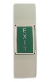 mini type plastic adgangskontrol dør exit knap py-db7
