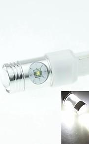 7440 W21W w3x16d Cree XP-e conduit 20w 1300-1600lm 6500-7500k ac / DC12V-24 tour lumière blanche - argent transparent
