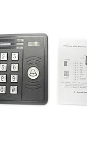 vandtæt em-kort enkelt dør tastatur adgangskontrol med blåt baggrundslys, indbygget kortlæser til py-668b