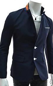 Men's Fashion Leisure Pure Color Outerwear