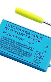 700mAh oplaadbare lithium-ion batterij + gereedschap-kit voor de Nintendo GBA SP