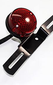 la cola del freno LED de la lámpara del intermitente luz ámbar claro motocicleta