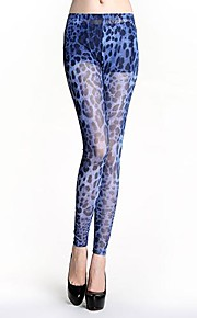 Women Print Legging , Polyester