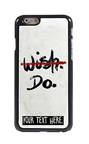"""gepersonaliseerd geval geen wens maar ontwerpen metalen behuizing voor de iPhone 6 (4.7 """")"""