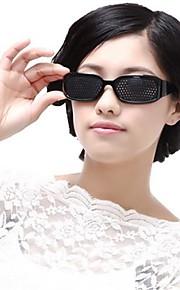 14.2 * 4 * 3.2cm den justerbare pinhole briller syn øyebeskyttelse