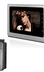 """Sistema videocitofonico xinyuanyang® xyy-v70b-id 7 """"TFT a colori con wheatherproof fotocamera coperchio e carta d'identità"""