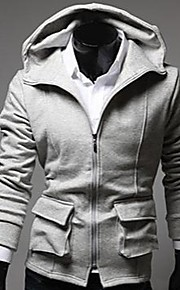 Men's Fashion Slim Zipper Hoodie Coat