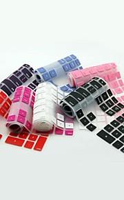 protector coosbo® piel cubierta del teclado del silicón del color para el teclado de escritorio pc g6 imac por cable