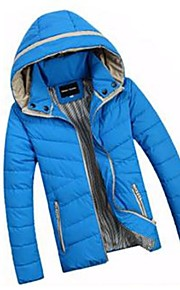 Men's Lovers Fashion Hooded Down Cotton Padded Jacket Outerwear