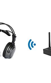 2.4GHz HDCD trådløs hovedtelefon til slient disco (med en desktop sender) TP-whb01