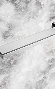 Mensola del bagno Acciaio inossidabile A muro 56.7*14.25*5.5cm(22.32*5.61*2.17inch) Acciaio inossidabile / Vetro Moderno
