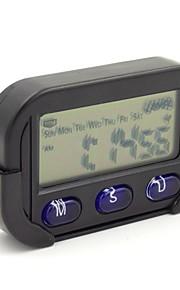 eenvoudige stijl kalender chronometer wekker voor auto kantoor aan huis