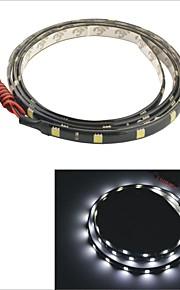 carking ™ 5050-36smd-90cm waterdichte auto decoratieve lamp strip-zwart
