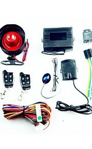 en måde bil alarm system - sort