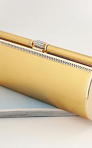 Handbag Crystal/ Rhinestone/Faux Leather/Metal Evening Handbags/Bridal Purse With Crystal/ Rhinestone/Metal