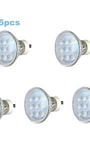 Spot/Ampoule Maïs/Projecteurs PAR Décorative Blanc Chaud 5 pièces PAR GU10 3 W 9 SMD 230 LM 3000-3500 K AC 100-240 V