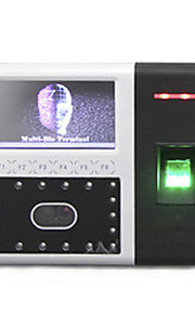 ZK Software iFace302 Fingerprint Facial 4,3 'TFT Touch Screen Recognition fremmøde system