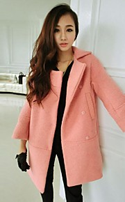 Yalun®Hot Sale! Women'S Plus Size Loose  Thickened Wool Coat
