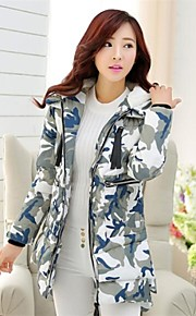 SHANGFEI™ Women's Fashion Camouflage Hooded Coat(More Colors)