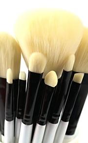 10pcs Makeup Brushes set Professional blush/powder/foundation/concealer brush shadow/eyeliner/eyelash/brow/lip brush cosmetic brush kit makeup tool