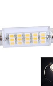 GC ® 43mm 3.5W 160lm 3000K 15x3020 SMD wärmen weiße LED für Auto-Lesen / Nummernschild / Türlampe (12 V DC)
