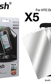 hög transparens spegel LCD skärmskydd till HTC Desire 610 (5 st)