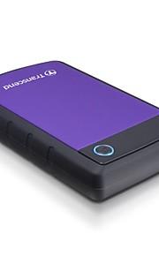 transcendere StoreJet 500GB bærbar usb 3.0external harddisk (ts500tsj25h3p)