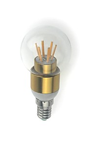 1 pcs MORSEN E14 4W 6 High Power LED 350 lm Warm White / Cool White G45 edison Vintage LED Filament Bulbs AC 85-265 V