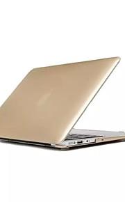 étui rigide pliable solide style métal de couleur pour MacBook 15,4 pouces rétine (couleurs assorties)