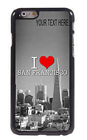 "Personalized Case I Love San Francisco Design Metal Case for iPhone 6 (4.7"")"