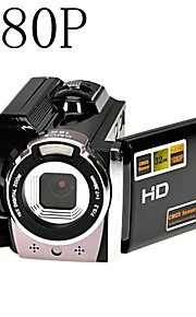 1080p digitale video camcorder full hd 16x digitale zoom dv camera kit zwart