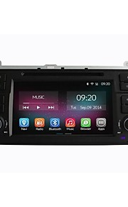 """7 """"1 DIN in-dash hd 10204 * 600 bil dvd-afspiller til BMW E46 1998-2005 med quad core android 4.4.2 2g ram + 16gb flash"""