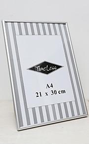 "8.4 ""x 12"" moderne / nutidig rektangulære akryl / aluminium billedrammer"