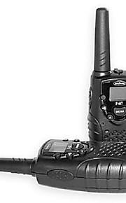 22 kanalen een paar walkie talkie met super heldere blauwe led zaklamp en lcd-scherm