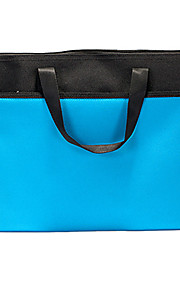 תיק כחול קוריאני נייד עמיד למים תיקיית נייר עם רוכסן