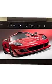 9 tommer hovedstøtte tft skærm DVD-afspiller kompatibel med DVD / VCD / MP3 / MP4 / CD-R / CD-RW / divx