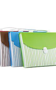 תיק A4 כחול בית הספר נייד תיקיית נייר