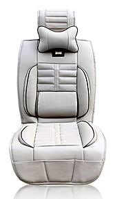 gran llave en mano de lujo Life® cojín del asiento de coche del cuero de la PU para cinco plazas de coche