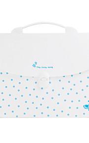 שקית נייר תיקיית בית ספר הכחול