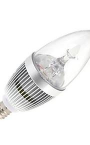 12W E14 LED-lysestakepærer 5 Høyeffekts-LED 120 lm Kjølig hvit AC 85-265 V 1 stk.