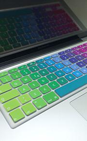 """coosbo® Italiaans kleurrijke siliconen toetsenbord huid van de dekking eu lay-out voor 13 """"/ 15"""" / 17 """"mac macbook air pro / netvlies /"""