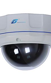 great® vandalismebestendige dome ip camera met varifocale lens en poe