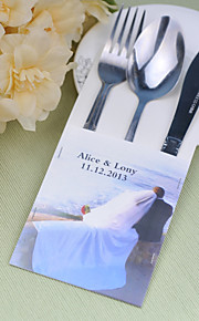 Serving Sets Wedding Cake Knife Personalized  Supplies  Bags Set of 10----